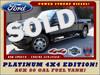 2014 Ford Super Duty F-250 Pickup Platinum Crew Cab 4x4 - AUX FUEL TANK! Mooresville , NC