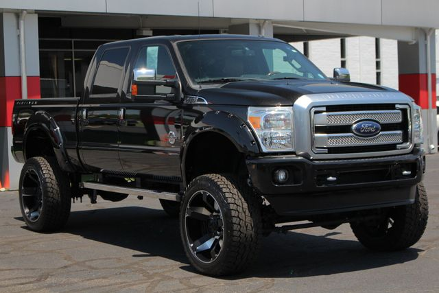 2014 Ford Super Duty F-250 Pickup Platinum Crew Cab 4x4 - LIFTED - LOT$ OF EXTRA$! Mooresville , NC 24
