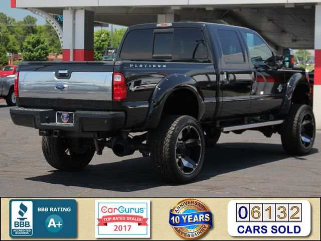 2014 Ford Super Duty F-250 Pickup Platinum Crew Cab 4x4 - LIFTED - LOT$ OF EXTRA$! Mooresville , NC 2