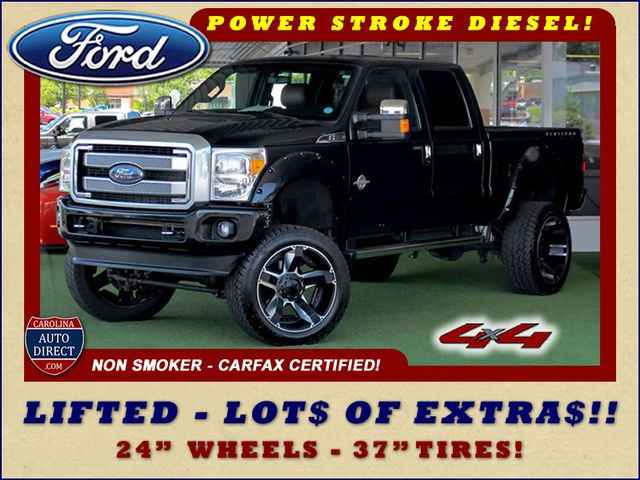 2014 Ford Super Duty F-250 Pickup Platinum Crew Cab 4x4 - LIFTED - LOT$ OF EXTRA$! Mooresville , NC 0