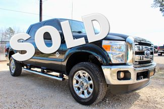 2014 Ford Super Duty F-250 Lariat Crew Cab FX4 4X4 6.7L Powerstroke Diesel Auto Loaded Sealy, Texas