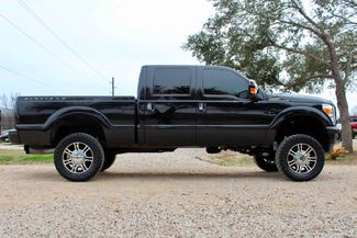 2014 Ford Super Duty F-250 Platinum Crew Cab 4X4 6.7L Powerstroke Diesel Auto LIFTED LOADED Sealy, Texas 12