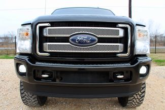 2014 Ford Super Duty F-250 Platinum Crew Cab 4X4 6.7L Powerstroke Diesel Auto LIFTED LOADED Sealy, Texas 13