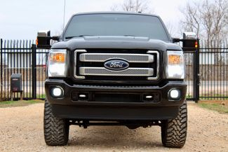 2014 Ford Super Duty F-250 Platinum Crew Cab 4X4 6.7L Powerstroke Diesel Auto LIFTED LOADED Sealy, Texas 3