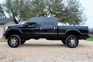 2014 Ford Super Duty F-250 Platinum Crew Cab 4X4 6.7L Powerstroke Diesel Auto LIFTED LOADED Sealy, Texas 6