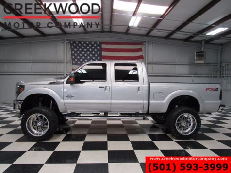 2014 Ford Super Duty F-250 Lariat 4x4 Diesel Lifted FX4 Nav 37s Roof 22s in Searcy, AR
