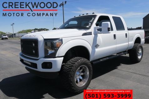 2014 Ford Super Duty F-250 Lifted 4x4 Diesel Chrome 20s Leather 37