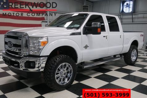 2014 Ford Super Duty F-250 Lariat FX4 4x4 Diesel Chrome 20s New Tires Lifted in Searcy, AR