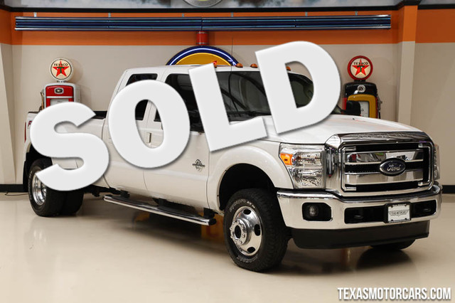 2014 Ford Super Duty F-350 Lariat This 2014 Ford Super Duty F-350 DRW Lariat is in great shape wit