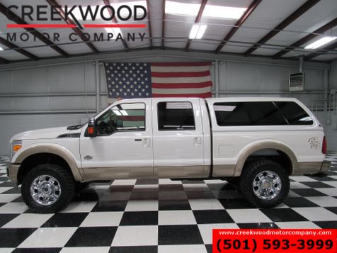 2014 Ford Super Duty F-350 SRW F-250 King Ranch 4x4 Diesel Nav Chrome 20s 1 Owner in Searcy, AR