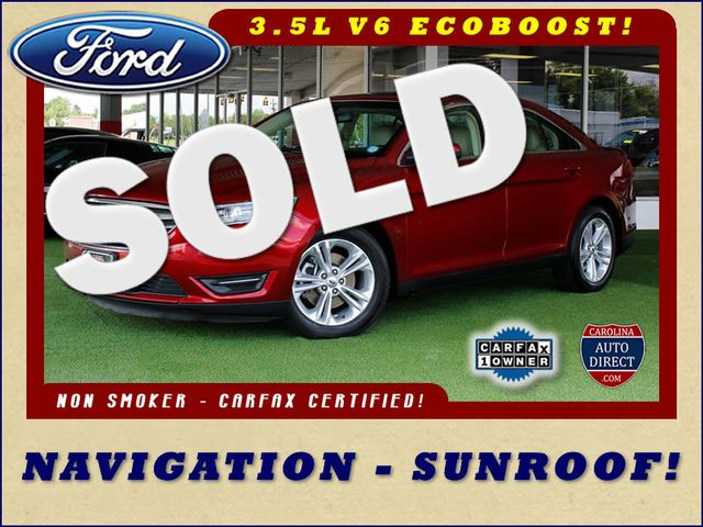 2014 Ford Taurus SEL FWD - NAVIGATION - SUNROOF! Mooresville , NC 0