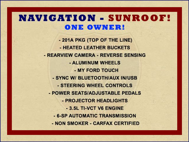 2014 Ford Taurus SEL FWD - NAVIGATION - SUNROOF! Mooresville , NC 1