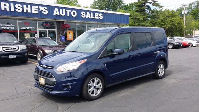 2014 Ford Transit Connect Ext 7 Pass Titanium Nav Remote start | Ogdensburg, New York | Rishe's Auto Sales in Ogdensburg New York