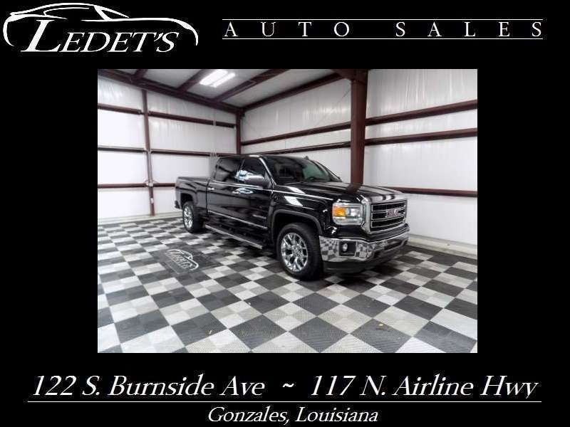 2014 GMC Sierra 1500 SLT - Ledet's Auto Sales Gonzales_state_zip in Gonzales Louisiana