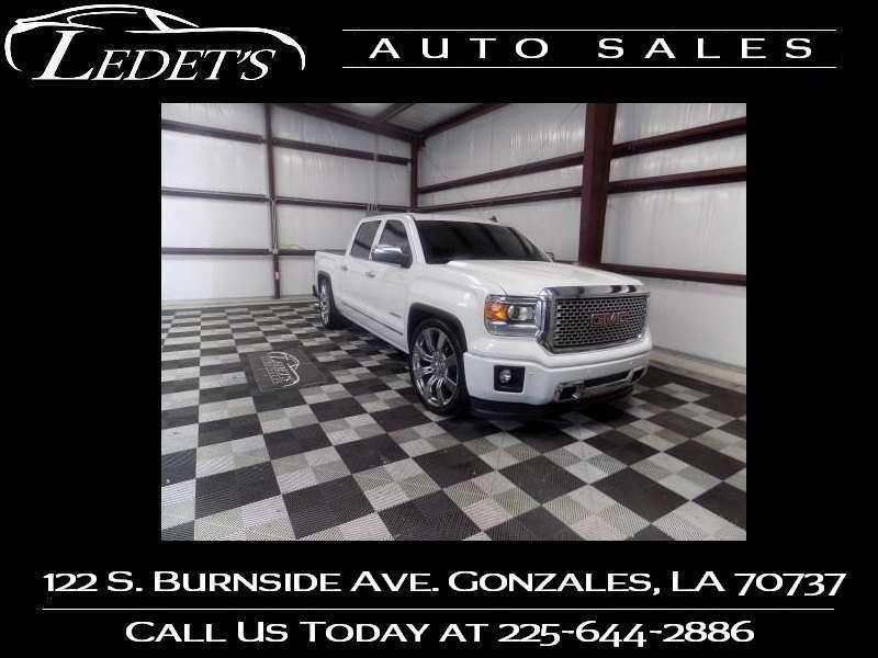 2014 GMC Sierra 1500 Denali - Ledet's Auto Sales Gonzales_state_zip in Gonzales Louisiana