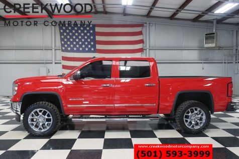 2014 GMC Sierra 1500 SLT 4x4 Z71 Red Leather Heated Chrome 20s Lifted in Searcy, AR