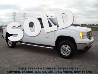 2014 GMC Sierra 2500HD 6.0L, 1-OWNER, 4X4, NEW TIRES, NEW TRANSMISSION in  Tennessee