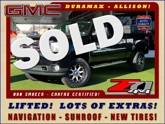 2014 GMC Sierra 2500HD Denali Crew Cab Z71 4X4 - LIFTED - LOTS OF EXTRA$! Mooresville , NC 0