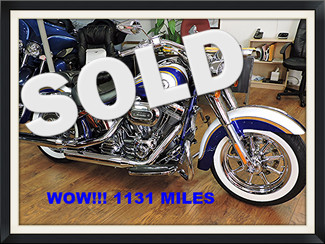 2014 Harley Davidson CVO Screamin Eagle Softail Deluxe FLSTNSE Pompano, Florida