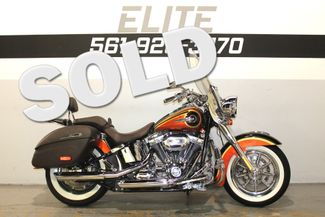 2014 Harley Davidson Deluxe CVO Screamin Eagle FLSTNSE Boynton Beach, FL