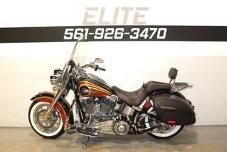2014 Harley Davidson Deluxe CVO Screamin Eagle FLSTNSE Boynton Beach, FL 9