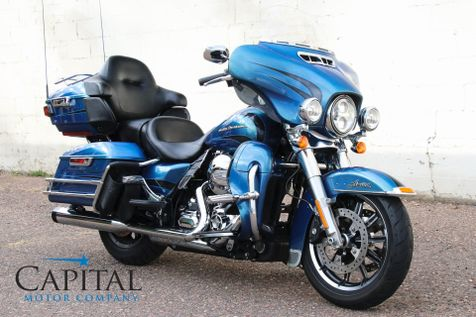2014 Harley-Davidson Electra Glide Ultra Limited with H.O. 103ci V-Twin, Navigation, Cruise & Bluetooth Audio in Eau Claire