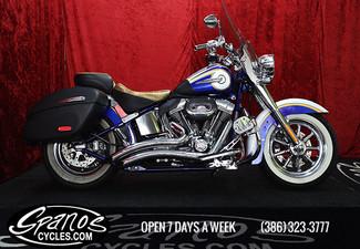 2014 Harley-Davidson SOFTAIL CVO DELUXE  FLSTNSE CVO   Daytona Beach, FL   Spanos Motors-[ 2 ]