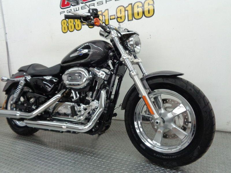 2014 Harley Davidson Sportster 1200 Custom   Oklahoma  Action PowerSports  in Tulsa, Oklahoma