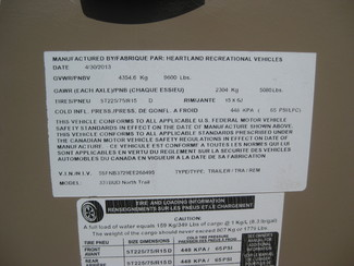 2014 Heartland North Trail Elite Edition M - 33TBUD Katy, Texas 35