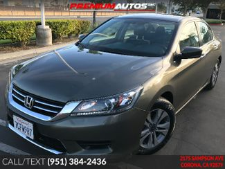 2014 Honda Accord LX - ONLY 26K MILES - REAR CAM - WARRATY | Corona, CA | Premium Autos Inc. in Corona CA
