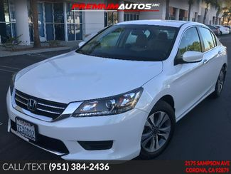 2014 Honda Accord LX - LOW MILES - REAR CAM - WARRANTY | Corona, CA | Premium Autos Inc. in Corona CA