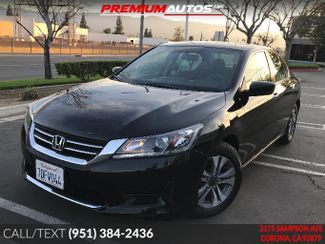2014 Honda Accord LX | Corona, CA | Premium Autos Inc. in Corona CA