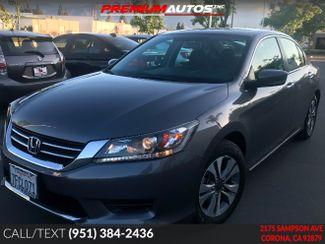 2014 Honda Accord LX | Corona, CA | Premium Autos Inc. in Corona CA