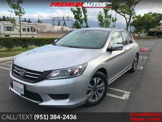 2014 Honda Accord LX - LOW MILES - REAR CAM - WARRANTY | Corona, CA | Premium Autos Inc. in Corona CA