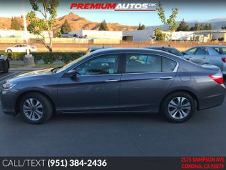 2014 Honda Accord LX - REAR CAM - FACTORY WARRANTY | Corona, CA | Premium Autos Inc. in Corona CA