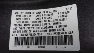 2014 Honda Accord EX East Haven, CT 34
