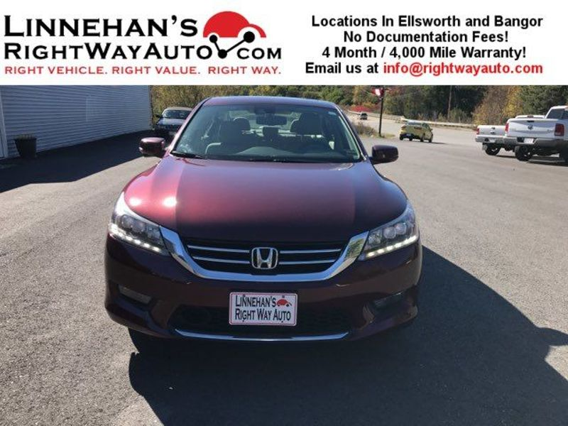2014 Honda Accord Touring  in Bangor, ME
