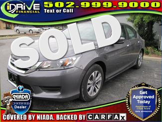 2014 Honda Accord LX | Louisville, Kentucky | iDrive Financial in Lousiville Kentucky