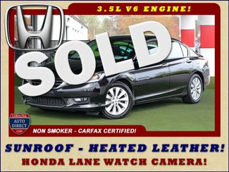 2014 Honda Accord EX-L - 3.5L V6 ENGINE - SUNROOF! Mooresville , NC
