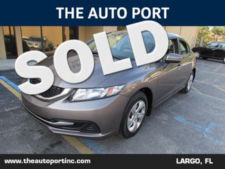 2014 Honda Civic LX | Clearwater, Florida | The Auto Port Inc in Clearwater Florida