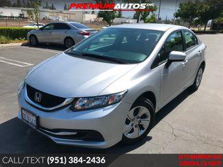 2014 Honda Civic LX - ONLY 23K MILES - CAMERA - BLUETOOTH | Corona, CA | Premium Autos Inc. in Corona CA
