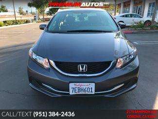 2014 Honda Civic LX - ONLY 21K MILES - BACK UP CAMERA -  | Corona, CA | Premium Autos Inc. in Corona CA