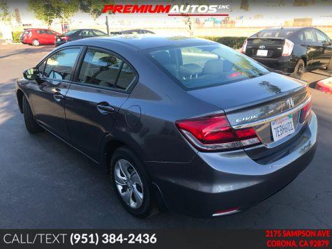 2014 Honda Civic LX - ONLY 21K MILES - BACK UP CAMERA -  | Corona, CA | Premium Autos Inc. in Corona, CA
