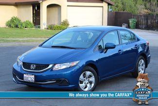 2014 Honda CIVIC LX SEDAN AUTOMATIC ONLY 52K ORIGINALS MLS SERVICE RECORDS! Woodland Hills, CA