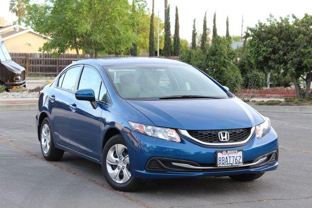 2014 Honda CIVIC LX SEDAN AUTOMATIC ONLY 52K ORIGINALS MLS SERVICE RECORDS! Woodland Hills, CA 9