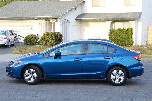 2014 Honda CIVIC LX SEDAN AUTOMATIC ONLY 52K ORIGINALS MLS SERVICE RECORDS! Woodland Hills, CA 2