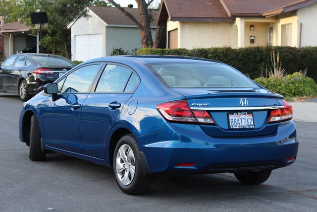 2014 Honda CIVIC LX SEDAN AUTOMATIC ONLY 52K ORIGINALS MLS SERVICE RECORDS! Woodland Hills, CA 3