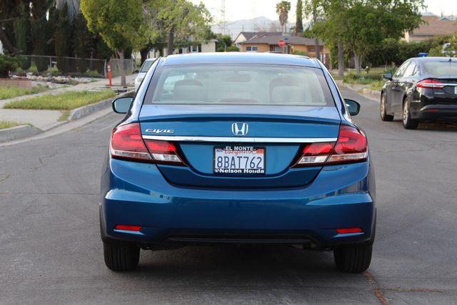 2014 Honda CIVIC LX SEDAN AUTOMATIC ONLY 52K ORIGINALS MLS SERVICE RECORDS! Woodland Hills, CA 4