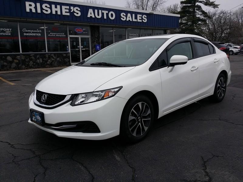2014 Honda Civic EX in Ogdensburg New York