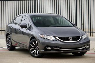 2014 Honda Civic EX-L* Leather* Sunroof* NAV* BU Cam* EZ Finance** | Plano, TX | Carrick's Autos in Plano TX
